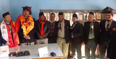 nepal-scout president