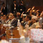 संविधानको परिमार्जित विधेयक पारित हुने क्रम जारी