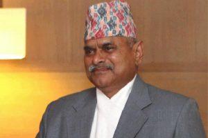 Nepal President Ram Baran Yadav in an undated file photo.