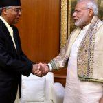 नेपाल र भारतबीच आठवटा समझदारीपत्रमा हस्ताक्षर