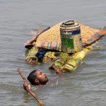 भारतको विहारमा बाढीपहिरोबाट मृत्यु हुनेको संख्या २५३ पुग्यो