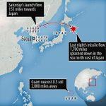 जापानको अाकाशमा उत्तर कोरीयली क्षेप्यास्त्र, जापानले जवाफ दिने
