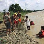नेपाली सेनाद्वारा एकहजार बाढीपीडितलाई निःशुल्क खाना