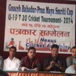 भोली देखि काठमाडौंमा टी–२० क्रिकेट प्रतियोगिता हुँदै