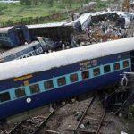 भारतमा रेल दुर्घटनामा २३ को मृत्यु, ४० घाइते