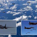 अमेरिकाले फेरी बमवर्षक र युद्ध विमान उत्तर कोरियामा उडाउदै