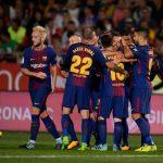 दुई आत्मघाती गोलले बार्सिलोना विजयी