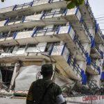 मेक्सिकोमा भूकम्प: मृत्यु हुनेको संख्या ५८ पुग्यो (फोटो फिचर)