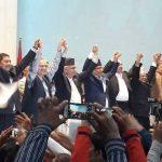 एमाले, माओवादी केन्द्र र नयाँशक्त्ति बिच ६ बुँदे सहमती पत्रमा हस्ताक्षर, चुनाव पछि पार्टी एकीकरण