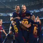 क्वाटरफाइनलको पहिलो लेगमा बार्सिलोना विजयी