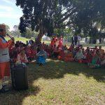 अभिभावकको जमघटका विच अस्ट्रेलियाली पार्कमा फहरायो नेपाली झण्डा