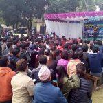 नेपालगन्जमा दर्शक रुवाउँदै कवि नवराज पराजुली