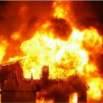 भक्तपुरस्थति फर्निचर उद्योगमा अागलागी हुँदा १० लाख बराबरको धनमाल नष्ट