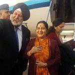 यस्तो छ स्वराज भ्रमणबारे भारतीय विदेश मन्त्रालयद्धारा जारी विज्ञप्ति