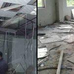 चुलाचुली गाउँपालिकामा बम विष्फोट, सभा हल र बैठक कक्ष पूर्णरुपमा ध्वस्त