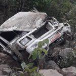 प्यूठानमा जीप दुर्घटना