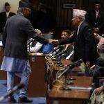नेकपा र कांग्रेसबीच संसदमा देखियो रियाक्सन