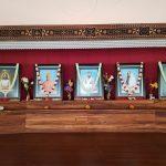 विवेकानन्द देखि क्राइष्ट र मोहम्मद तथा अन्य सबै आस्थाका प्रतिकहरूको तस्वीर एकै ठाउँमा