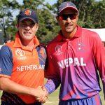 नेपाल र नेदरल्याण्ड्सबीचको ट्वान्टी ट्वान्टी क्रिकेटलाई आईसीसीको मान्यता
