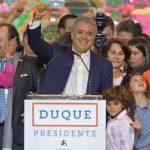 कोलम्बियाको राष्ट्रपतिमा अनुदारवादी नेता इभान डुके