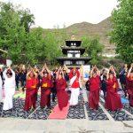 मुक्तिनाथमा नियमित योग अभ्यास,भारतीय पर्यकट ह्वात्तै बढे