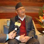 नेपाल-चीन सम्बन्ध असाधारण र अभूतपूर्व : प्रधानमन्त्री ओली