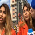 महिला पत्रकारलाई खुलेआम चुम्बन गर्ने रुसी युवकले माफी मागे