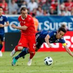 विश्वकप मैत्रीपूर्ण खेल अन्तर्गत स्वीट्जरल्याण्डद्वारा जापान पराजित