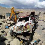 मुस्ताङमा टिप्पर दुर्घटना मृत्यु हुनेको संख्या १८ पुग्यो,उद्दारका लागि हेलिकप्टर घटनास्थलमा