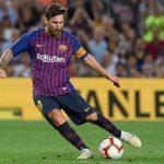 नयाँ सिजनको पहिलो खेलमै बार्सिलोनाले सुखद शुरुवात,मेस्सी र कोन्टिन्होको गोल