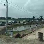 प्रदेश सरकारको राज्यमन्त्रीको स्वागतमा भारतीय गाडीको लस्कर (भिडियो )