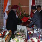 नेपाल र भारतबीच रक्सौल–काठमाडौं विद्युतीय रेलमार्गबारे सम्झौता