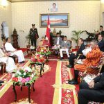राष्ट्राध्यक्ष तथा सरकार प्रमुखको सम्मानमा प्रधानमन्त्रीको रात्रिभोज