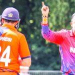 ऐतिहासिक एकदिवसीय खेलमा ब्याट्सम्यानहरु नचल्दा  नेपाल पराजित