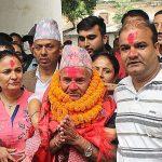 कृष्णप्रसाद अधिकारीको हत्या मुद्दामा सफाई पाएका छविलाल रिहा,बाजागाजासहित स्वागत