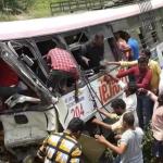 भारतको तेलङ्गानामा बस दुर्घटना, ४५ जनाको मृत्यु