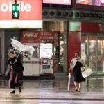 जापानमा फेरि आँधी : ८४ जना घाइते, जनजीवन प्रभावित