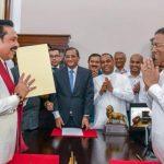 श्रीलंकाको राजनीतिकमा नयाँ मोड,राष्ट्रपतिमा हारेका महिन्दा राजापक्ष प्रधानमन्त्रीमा नियुक्त