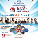 """अस्ट्रेलियामा """"नेपाल फेस्टिभल २०१८ सिड्नी""""को अायोजना हुँदै"""