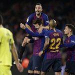 बार्सिलोना शीर्ष स्थानमा उक्लियो, भिया रियल २–० ले पराजित