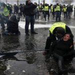 हिंसात्मक बन्दै फ्रान्सको आन्दोलन, एक सय भन्दा बढी पक्राउ
