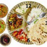 खाना समयमै खाने कि भोक लागेपछि ?