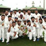 अष्ट्रेलियाविरुद्धको टेस्ट शृङ्खलामा भारतको ऐतिहासिक जित