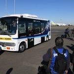 टोकियो विमानस्थल अवतरण गर्नेलाई नयाँ स्वाद,चालकबिहीन बस सञ्चालन (फोटो/भिडियाे)