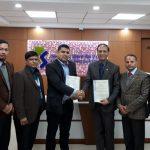 कामना सेवा विकास बैंक र सानिमा इन्स्योरेन्स कम्पनीबीच सम्झौता