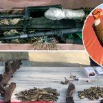 विप्लवको गाउँमा प्रहरीको 'स्वीप अपरेसन': दुई थान एसएमजीसहितका आधुनिक हतियार बरामद