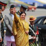 राष्ट्रपति भण्डारीको राजकीय भ्रमणलाई उच्च महत्व,यस्तो छ कार्यतालिका