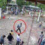 श्रीलङ्का आक्रमण:एक शंकास्पद व्यक्ति गिर्जाघर छिरेको भिडियो सार्वजनिक