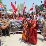 विश्व मजदुर दिवस: प्रधानमन्त्रीको गृहजिल्लामै श्रमिकले पाएनन् न्यूनतम ज्याला,चिया श्रमिक भोकभोकै आन्दोलनमा