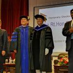 प्रधानमन्त्री ओलीलाई क्रिश्चियन धर्म फैलाउन खोलिएको विश्वविद्यालयले दियो मानार्थ 'डाक्टर'को उपाधि